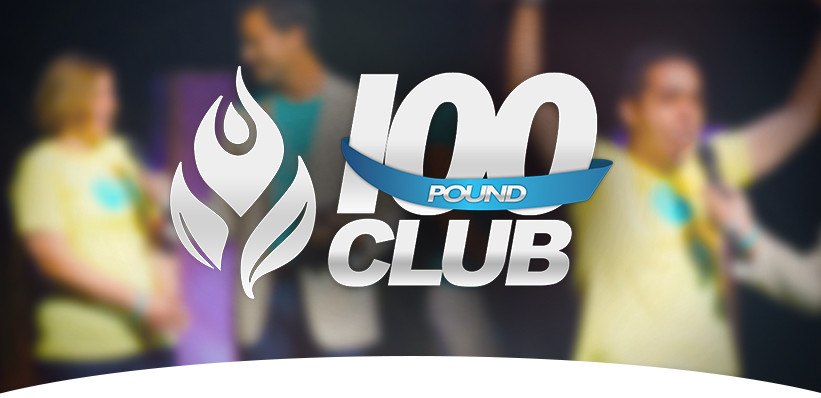 100 Pound Club Banner