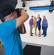 Sesión de Fotos Profesional dentro de un estudio